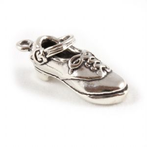 Charm School UK > Sterling Silver Charms > Music and Dance > Irish Dance Hard Shoe